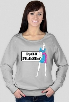 Bluza z napisem: pani prezes
