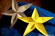 Gwiazda kusudama na choinkę