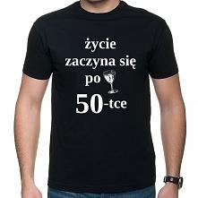 Koszulka Życie zaczyna się ...