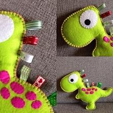 Dinozaur z metkami