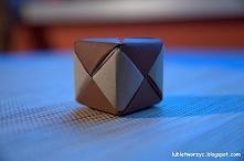 Filmik prezentujący sposób wykonania kostki origami