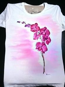 koszulki ręcznie malowane -...