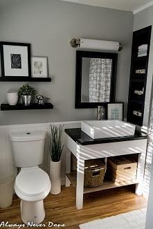 Jak urządzić małą łazienkę ...