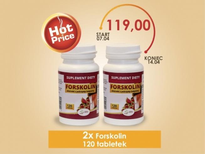 Forskolin- Ekstrakt z pokrzywy indyjskiej. Do leczenia układu oddechowego, krążenia, moczowego i bezsenności.