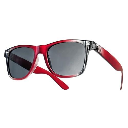 Okulary Strips Czerwone