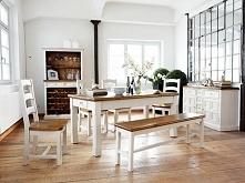 Rustykalne krzesło z kolekcji Bodge wykonane z litego drewna sosnowego. Cała kolekcja Bodge oraz wiele więcej mebli dostępne na seart.pl