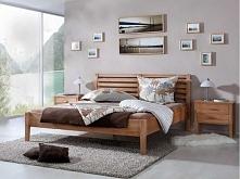 Klasyczne łóżko z kolekcji Nina wykonane z litego drewna bukowego. Cała kolekcja Nina oraz wiele więcej mebli dostępne na seart.pl