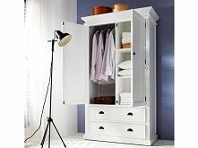 Biała szafa z kolekcji Hali...