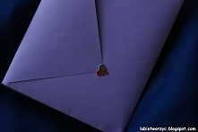 Koperta wykonana techniką origami