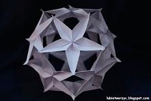 Kula z gwiazdek kusudama