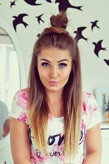 Styleev ♥ ostatnio polubiłam tego typu fryzurkę :) a wam jak się ona podoba?