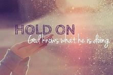 Zwolnij. Bóg wie co robi.