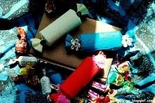 Pudełko prezentowe w kształcie cukierka