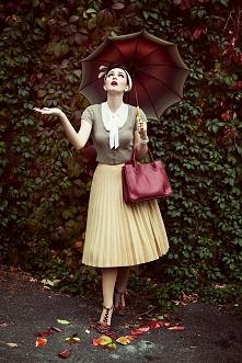 Przepiękna stylizacja! Lubicie w stylu vintage?