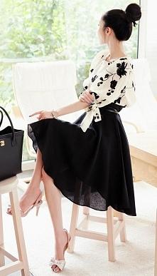 Przepiękna, elegancka, kobieca... nic dodać nic ująć. Idealna stylizacja na c...