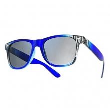 Okulary Strips Granatowe