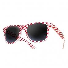 Okulary Dice Czerwone