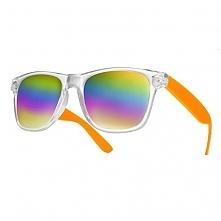 Okulary Tęcza Pomarańczowe