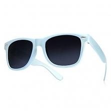 Okulary Wayfarer Błękitne