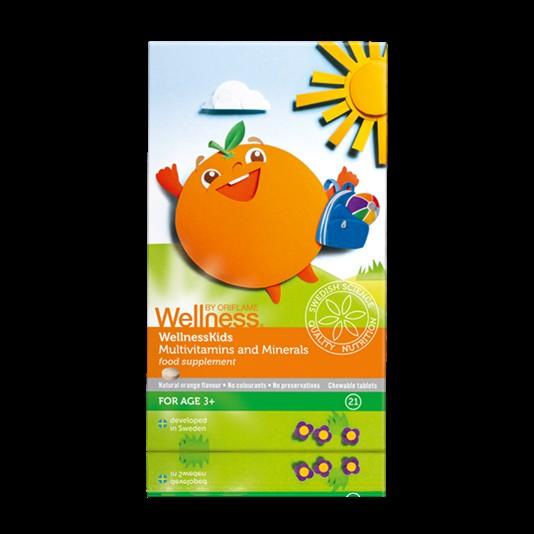 Podaruj swojemu dziecku najlepszy prezent! Połączenie 13 witamin i 8 minerałów dla dzieci w wieku powyżej 3 lat. Tabletki do żucia z naturalnym, pomarańczowym aromatem. Dzieci w wieku 3-9 lat jedna tabletka dziennie. Dzieci w wieku powyżej 10 lat dwie tabletki dziennie. Opakowanie zawiera 21 tabletek. Cena 39,90 zł. Informacje i pytania: rhw.kolod@gmail.com