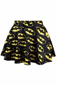 Mini spódniczka z Batmanem! :) Noshame.pl