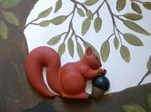 Wiewiórka zamieszkała na na...