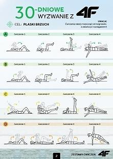 4F płaski brzuch