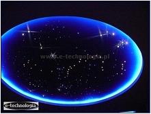 Oświetlenie salonu - gwiezdne niebo w salonie - gwieździste niebo w salonie -...