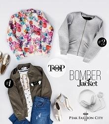 #1 Kurtka, sweterek, spodnie, naszyjnik : Cropp/House / Ptak Outlet / Ptak Fashion City Buty: Venezia/Ptak Outlet/Ptak Fashion City  #2 Kurtki Bomber Jacket: Figl, stoisko 26-27...