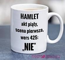 kubek Hamlet grzecznie i na...
