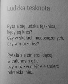 Kazimierz Przerwa-Tetmajer.  Ludzka tęsknota ♥.