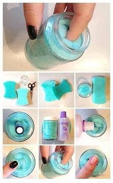 Poniżej na zdjęciu pokazujemy krok po kroku jak zrobić profesjonalny zmywacz ...