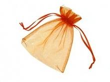 Woreczek z organzy idealny do zapakowania prezentów :)
