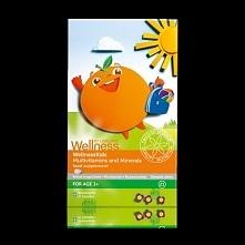 Podaruj swojemu dziecku najlepszy prezent! Połączenie 13 witamin i 8 minerałów dla dzieci w wieku powyżej 3 lat. Tabletki do żucia z naturalnym, pomarańczowym aromatem. Dzieci w...
