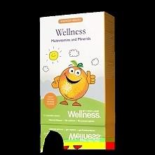 Najlepszy prezent dla dzieci w wieku powyżej 4 lat! Połączenie 13 witamin i 8 minerałów dla dzieci w wieku powyżej 4 lat. Tabletki do żucia z naturalnym, pomarańczowym aromatem....