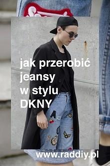 Spodobały Wam się jeansy z naszywkami z kolekcji DKNY? Mi też! Cena już mniej...