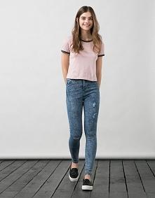 Sprzedam nowe spodnie Bershka z przetarciami na kolanach, rozmiar 38 cena 45z...