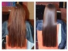 Laminowanie włosów - cała prawda i jak to zrobić... Potrzebujemy: * 1/4 szkl gorącej wody, * łyżka żelatyny, * pół łyżki odżywki do włosów lub maski Żelatynę dokładnie rozpuszcz...