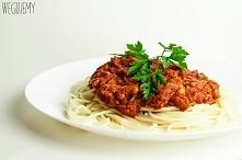 Najprostsze spaghetti bolognese z ciecierzycą