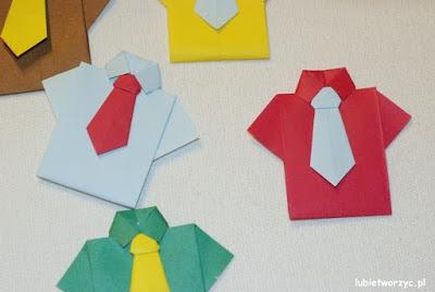 Filmik ukazujący sposób tworzenia koszuli techniką origami