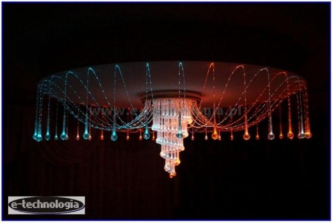 lampa, lampa LED, lampa do salonu, żyrandol Ośmiornica, żyrandol dekoracyjny, elegancka lampa, piękna lampa, lampa sufitowa do salonu, lampa do salonu z jadalnią, żyrandol Ośmiornica, e-technologia, nowoczesna lampa do salonu, dekoracje świetlne do salonu, e-technologia, jaka lampa do salonu