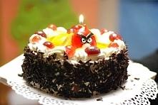 Tort z motywem Angry Birds