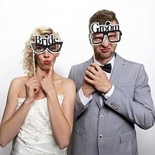 Imprezowe patyczki do zdjęć ślubnych :)