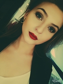 makijaż na piątkowy wieczór :)