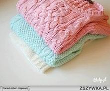 Pastelowe sweterki <3