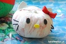 Hello Kitty z dyni - na Hal...