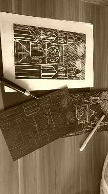 linoryt, pierwszy raz, inspiracja gotykiem