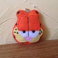 Brelok Garfield