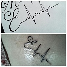 jestem z siebie dumna. kolejny bardzo ważny dla mnie tatuaż. jeszcze świeży :-)