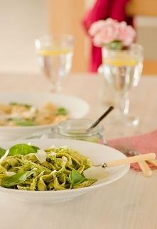 Pesto domowe ze szpinaku